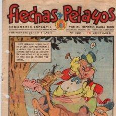 Tebeos: FLECHAS Y PELAYOS. Nº 420. 2 DE FEBRERO DE 1947. Lote 95812539