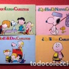 Tebeos: CARLITOS Y SNOOPY 1978 4 NÚMEROS. Lote 96033579