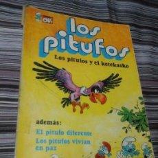 Tebeos: TEBEO COLECCIÓN OLÉ LOS PITUFOS Y EL KETEKASKO 1981, 2º EDICIÓN. Lote 96035811