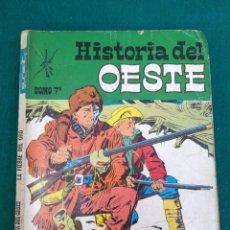 Tebeos: HISTORIA DEL OESTE LA FIEBRE DEL ORO- EUREDIT Nº 7. Lote 96044619