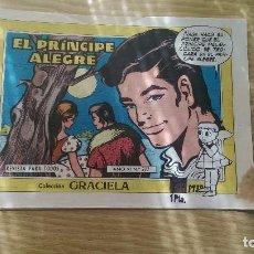Tebeos: TEBEO 'GRACIELA' «EL PRINCIPE ALEGRE» (Nº277). Lote 96179799