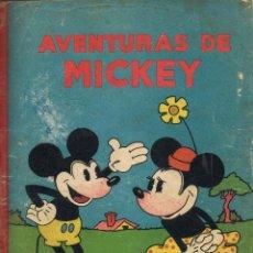 Tebeos: AVENTURAS DE MICKEY (MOUSE). WALT DISNEY. 16 PRIMEROS NÚMEROS PUBLICADOS. 1934-1936.. Lote 96494323