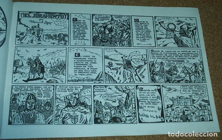 Tebeos: EL JURAMENTO SAGRADO- TEBEOS EL BOLETIN Nº 1 - IMPECABLE- VER FOTOS- IMPORTANTE LEER TODO - Foto 2 - 96507151