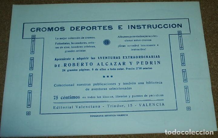 Tebeos: EL JURAMENTO SAGRADO- TEBEOS EL BOLETIN Nº 1 - IMPECABLE- VER FOTOS- IMPORTANTE LEER TODO - Foto 4 - 96507151