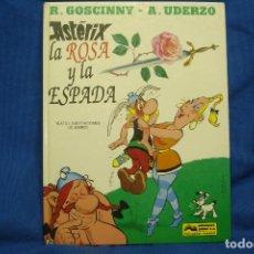 Tebeos: ASTÉRIX - R. GOSCINNY / A. UDERZO - LA ROSA Y LA ESPADA - EDICIONES JUNIOR 1991. Lote 98128599