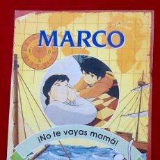 Tebeos: MARCO. NO TE VAYAS MAMA, 1999. NUMERO 1. ENVIO INCLUIDO EN EL PRECIO.. Lote 98478195