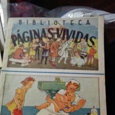 Tebeos: BIBLIOTECA PÁGINAS VIVIDAS. N°25. Lote 98585351