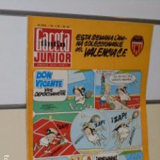 Tebeos: GACETA JUNIOR Nº 67 SEMANARIO JUVENIL INFANTIL - UNISA -. Lote 98641235