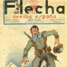 Tebeos: COMIC SEMANARIO FLEHA Nº 52 1938. Lote 98781823