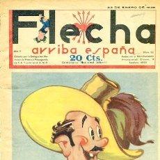 Tebeos: COMIC SEMANARIO FLEHA Nº 53 1938. Lote 98781903