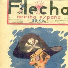 Tebeos: COMIC SEMANARIO FLEHA Nº 61 1938. Lote 98781947