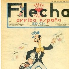 Tebeos: COMIC SEMANARIO FLEHA Nº 69 1938. Lote 98782147