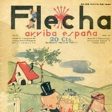 Tebeos: COMIC SEMANARIO FLEHA Nº 70 1938. Lote 98782191