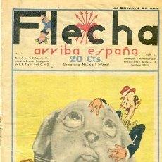 Tebeos: COMIC SEMANARIO FLEHA Nº 71 1938. Lote 98782295