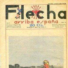 Tebeos: COMIC SEMANARIO FLEHA Nº 73 1938. Lote 98782391