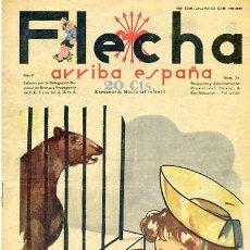 Tebeos: COMIC SEMANARIO FLEHA Nº 74 1938. Lote 98782427