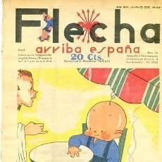 Tebeos: COMIC SEMANARIO FLEHA Nº 75 1938. Lote 98782571