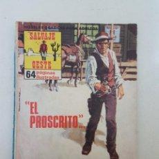 Tebeos: SALVAJE OESTE.Nº 4. PRODUCCIONES EDITORIALES.. Lote 99237447