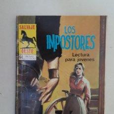 Tebeos: SALVAJE OESTE.Nº 320. PRODUCCIONES EDITORIALES.. Lote 99269751