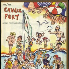 Tebeos: CAVALL FORT - Nº 285 / 286. Lote 99290147