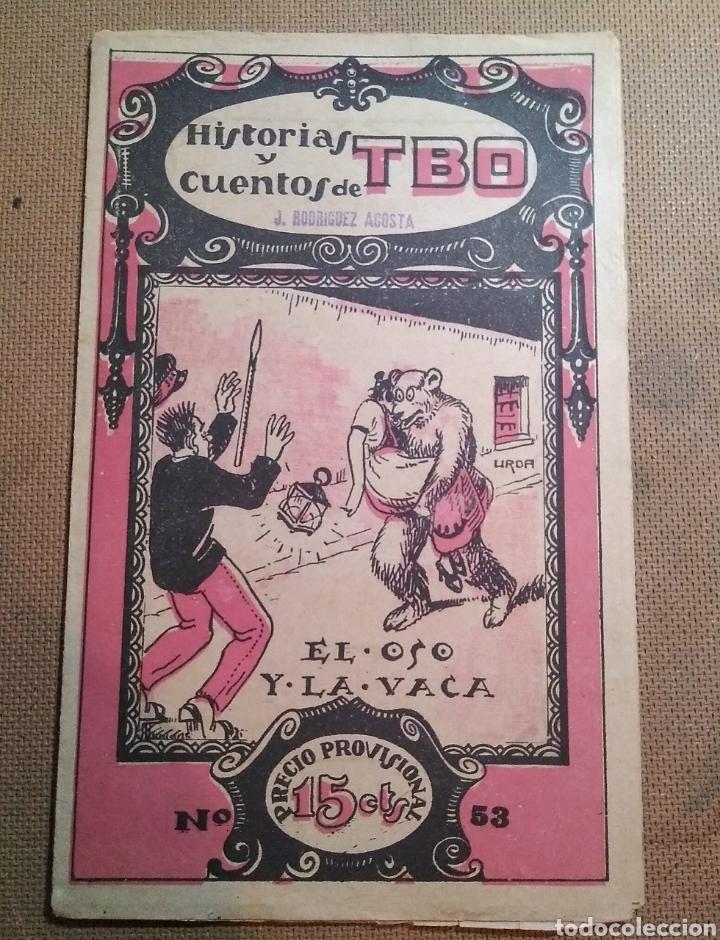 HISTORIAS Y CUENTOS DE TBO, 1919. NÚMERO 53 (Tebeos y Comics - Tebeos Clásicos (Hasta 1.939))