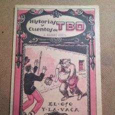 Tebeos: HISTORIAS Y CUENTOS DE TBO, 1919. NÚMERO 53. Lote 99398086
