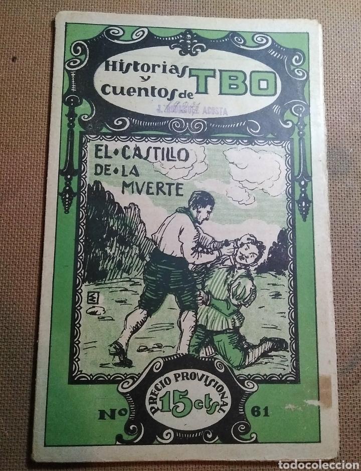 HISTORIAS Y CUENTOS DE TBO, 1919. NUMERO 61 (Tebeos y Comics - Tebeos Clásicos (Hasta 1.939))