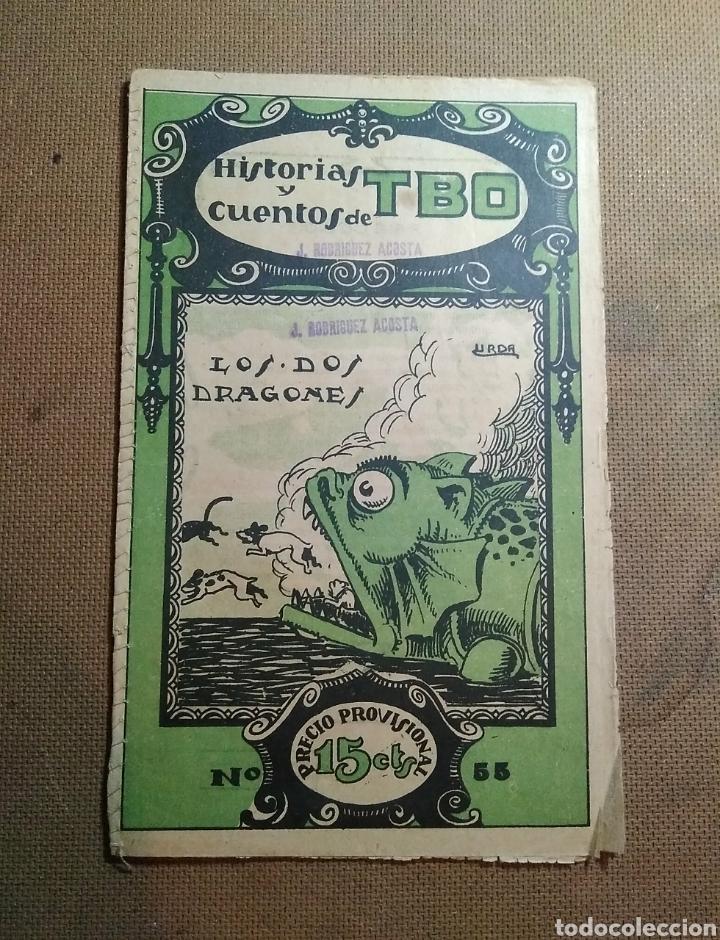 HISTORIAS Y CUENTOS DE TBO, 1919. NÚMERO 55 (Tebeos y Comics - Tebeos Clásicos (Hasta 1.939))