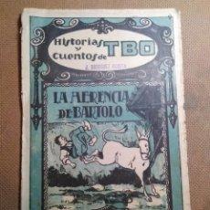 Tebeos: HISTORIAS Y CUENTOS DE TBO, 1919. NÚMERO 71. Lote 99398763