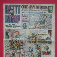 Giornalini: CINE-AVENTURAS - LA GRAN REVISTA PARA LA JUVENTUD - BETTY BOOP - AÑO II - NÚM 27 - 10 CTS. - 1936. Lote 99943439