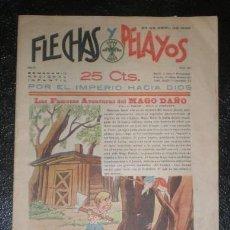 Tebeos: FLECHAS Y PELAYOS. SEMANARIO NACIONAL INFANTIL. AÑO II Nº 20. 23 ABRIL 1939. Lote 100040439