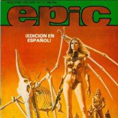 BDs: COMIC EPIC, Nº 3 (EDICION EN ESPAÑOL) - SOLO PARA ADULTOS. Lote 102605364