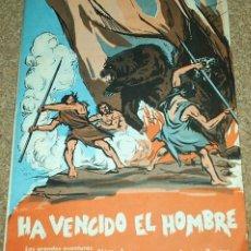 Tebeos: LAS GRANDES AVENTURAS DE LA HUMANIDAD Nº 1 DOMINGO SAVIO 1963- INENCONTRABLE,TEXTO Y DIBUJOS. Lote 100432375