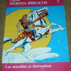 Tebeos: HEROES BIBLICOS Nº 7 - DON BOSCO 1981 - MUY BUEN ESTADO- LEER. Lote 100433583