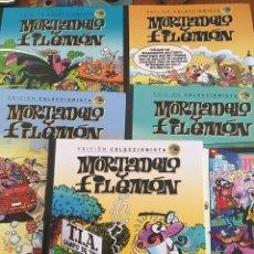 Tebeos: LOTE COMICS MORTADELO Y FILEMÓN. 5 TOMOS TAPA DURA. SALVAT. FRANCISCO IBAÑEZ. Lote 100493415