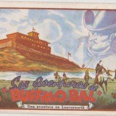 Tebeos: LAS AVENTURAS DE BUFFALO BILL Nº 4. PROA 1943. . Lote 101198707