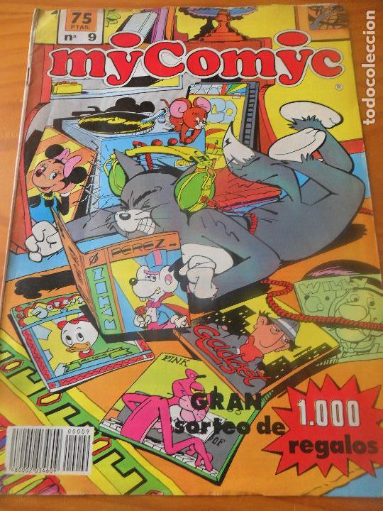 MY COMYC Nº 9 - CON: INSPECTOR GADGET, RATONCITO PEREZ Y + - GRUPO IFA - (Tebeos y Comics - Tebeos Otras Editoriales Clásicas)