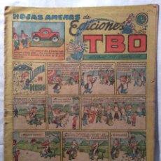 Tebeos: HOJAS AMENAS DE EDICIONES TBO. Lote 101478747