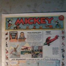 Tebeos: MICKEY. AÑO I N° 32, 1935 WALT DINEY. Lote 101691584