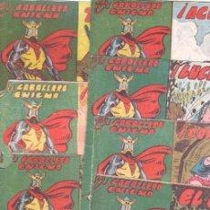 Tebeos: EL CABALLERO ENIGMA ORIGINAL - LOTE NºS - 2,3,5,6,7,9,10 EDITORIAL ACRÓPOLIS 1963. Lote 102107959