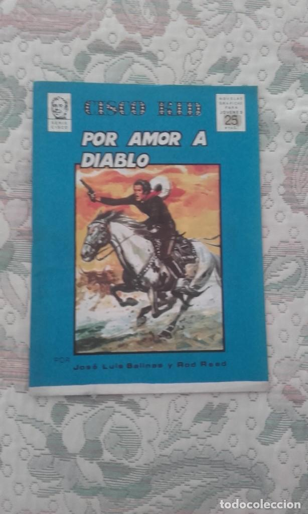 Tebeos: CHITO EXTRAORDINARIO CISCO KID: POR AMOR A DIABLO, DE JOSE LUIS SALINAS (PORTUGAL PRESS) - Foto 1 - 102496267
