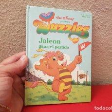 Tebeos: CUENTO WALT DISNEY PRESENTA WUZZLES LIBRO SERIE COLECCION Nº4 JALEON GANA EL PARTIDO. Lote 102551995
