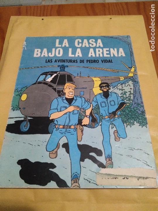 LA CASA BAJO LA ARENA AVENTURAS PEDRO VIDAL OIKOS TAU 1A EDICION 1969 (Tebeos y Comics - Tebeos Otras Editoriales Clásicas)