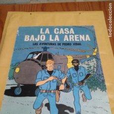 Tebeos: LA CASA BAJO LA ARENA AVENTURAS PEDRO VIDAL OIKOS TAU 1A EDICION 1969. Lote 103310055