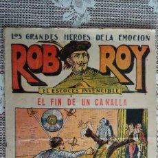 Tebeos: ROB ROY - EL ESCOCES INVENCIBLE, Nº 17, EL FIN DE UN CANALLA, EDITORIAL EL GATO NEGRO. Lote 103759295