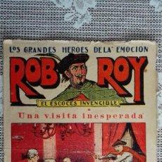 Tebeos: ROB ROY - EL ESCOCES INVENCIBLE, Nº 8, UNA VISITA INESPERADA, EDITORIAL EL GATO NEGRO. Lote 103759839