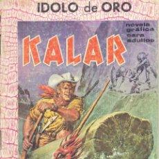 Tebeos: KALAR Nº20. EDITORIAL BOIXHER, 1966. EL ÍDOLO DE ORO. . Lote 103974331