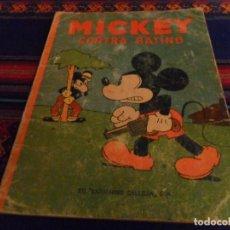 Tebeos: AVENTURAS DE MICKEY Nº 5 CONTRA RATINO CALLEJA 1935 WALT DISNEY. REGALO VACACIONES DE VERANO. MOLINO. Lote 106734479