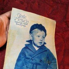 Tebeos: GENTE MENUDA, SUPLEMENTO INFANTIL DE BLANCO Y NEGRO, 6 ENERO DE 1935. Lote 106979851