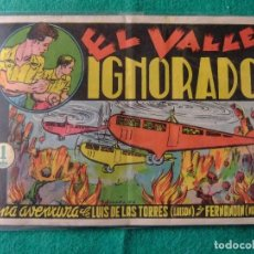 Tebeos: AVENTURAS DE LUISON Y NANDIN Nº 2 EL VALLE IGNORADO EDITORIAL J.L. AGUILAR. Lote 107430483